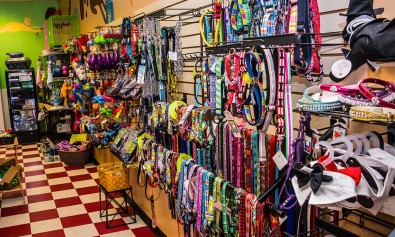 So many products for your pets! Leashes, leads, toys on slider